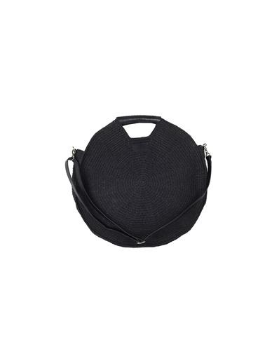 Tullaa 18 XL HOOP BAG Siyah